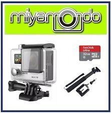 Eken H8R Action Camera 4K Ultra HD WiFi (Silver) + Monopod + Ultra microSD 32GB
