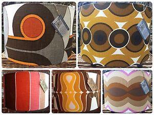 Genuine Vintage Retro Original Fabrics Custom Handmade Drum Lampshades Eames Era