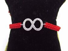 Infinity Macrame Bracelet Cubic Zirconia US Seller Fast Shipping!!!