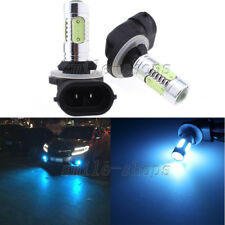 2pcs 881 H27W/2 Ice Blue COB LED Fog Driving Bulb Daytime Running Light 894