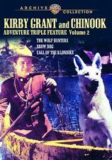 KIRBY GRANT & CHINOOK ADVENTURE TRIPLE FEATURE: 2 Region Free DVD - Sealed
