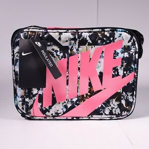 Nike Fuel Pack Lunch Bag Insulated 9A2744-A5W Pink/Black