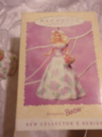 Keepsake Ornament Springtime Barbie Collector's Series 1995 Easter Collection