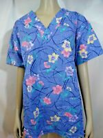 Medical Scrub Scrub Top by C.H.C. New With Tag Small