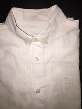 Burberry Boys Short Sleeve White Check Shirt‏ Size 10Y AUTHENTIC