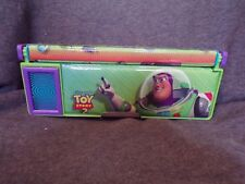 Toy Story 2 Buzz Lightyear Woody Storage pencil Case Holder  Super Rare!!! A0289