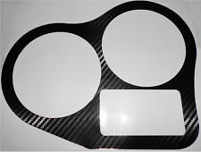 Ducati 750ss 900ss 1990-1995 Carbon Fiber Effect Clock Sur Protector Cover Decal