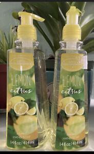 LOT OF 2 Simple Pleasures Lemon Citrus Refreshing  Hand Soap 14 fl oz, 2-Pack