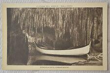"""CPA """" MALLORCA - Cuevas del Drach - Gondola en el Embarcadero"""