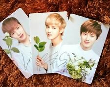 Rare Exo Official Nature Republic Photocards