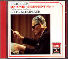 Otto KLEMPERER BRUCKNER Symphony No.7 Original Philharmonia EMI CD Sinfonie 1960
