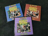 Lot of 3 Dr Demento Original Vinyl Record LP Album 1940s 1960s 1970s I III IV EX
