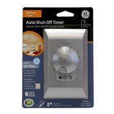 GE 15 Amp Single-Pole 60-Minute Wall Switch Auto Shut-Off Timer - 15084