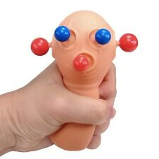 PANIC PETE eyes BUG OUT Squeeze toy Stress Relief ball popping martian bob NEW