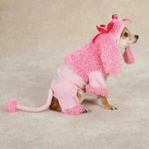 Zack & Zoey Pink Poodle Dog Halloween Costume XS-XL Pet costumes