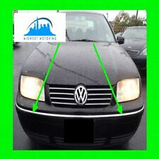 1999 2000 2001 2002 2003 VW VOLKSWAGEN JETTA CHROME BUMPER TRIM 2PC 5YR WRNTY