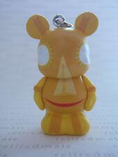 "Disney Vinylmation Jr 4 It's A Small World YELLOW SMILING SUN 1.5"" Mickey Figure"