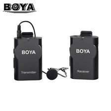 BOYA BY-WM4 HF Lavalier Wireless Microphone Camera for ENG EFP DSLR Smartphone
