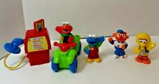 Sesame Street Figures Big Bird Elmo Cookie Ernie lot