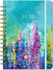 2021 2022 Planner Weekly Amp Monthly Planner With Tabs 63 X 84 Purple New
