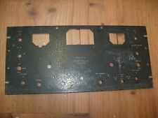Hallicrafters SX-28A Super Skyrider  Front face plate , Nice - Display Ham radio