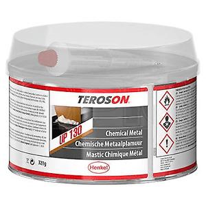 Teroson UP 130 Chemical Metal Filler 321g Multipurpose Filler Water Resistant