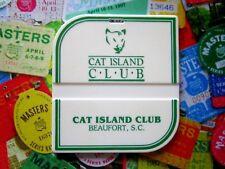 vtg - Pga Golf Bag Tag - Cat Island Club - Beaufort Sc