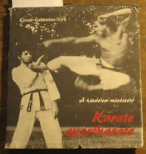Hungarian Book Hand-to-hand Fight Art Wrestling Sport Karate Fight Protection