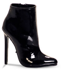 """Highest heel 'Hottie 31 '  Size 14 black 5 1/4"""" heels"""