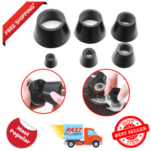 6pc Camera Lens Repair Rubber Tool Set For Face Rings Removing Assorted Sizes