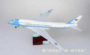 1:150 Scale B747 Aircraft Toy Model Resin Us Air Force Aircraft Airliner Toy