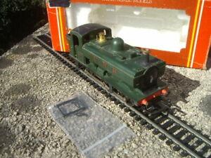 TRIANG HORNBY R041 GWR GREEN PANNIER TANK LOCO 0-6-0 57XX BXD NICE COND RARE!