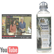 POWER SCOUR The best raw greasy dirty sheep and alpaca fleece cleaner!