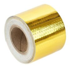 "Torque Solution Gold Reflective Thermal Heat Tape Fits Universal 1.5"" x 15'"