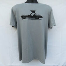 MERCEDES BENZ 300SL GULLWING T SHIRT SILVER SCCA RACING W198 19 54 55 56 57 SL