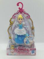 "Disney Princess Royal Clips Figure Cinderella Hasbro Approx 3.5"" Collectable Toy"