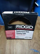 Ridgid 21338 Auto Spin Replacement Drain Cleaning Cable 14 X 30