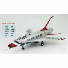 HOBBY MASTER HAS2114 1/72 F-100D Super Sabre USAF Thunderbirds w/decals 1 to 6