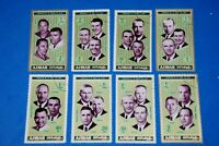 = Flight Crews Apollo 7-14 Astronauts = Space Full Set of 8 q20