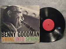 33 RPM LP Record Benny Goodman Swing Into Spring Columbia Records XTV 28994 EXC