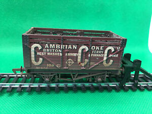 MAINLINE MODEL RAILWAYS 00 GAUGE 10 TONS CAMBRIAN COKE CO BRITON FERRY WEATHERED