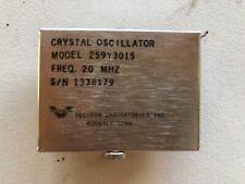 Vectron Crystal Oscillator Model 259y3015 Freq. 20 MHz