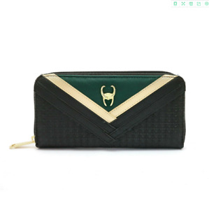 Avengers Endgame Loki Wallets Cosplay PU Wallet Card Holder Coin Purse Money Bag