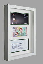 GEORGE BEST NORTHERN IRELAND FIVER £5 POUND BANKNOTE FIVER 3D BOX FRAME GIFT