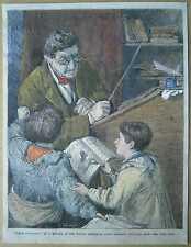 ILN illustration: John Morgan, Whom to punish; Jan 5, 1867