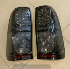 Toyota Hilux 2005-2015 Smoked Tail Lamps LED Pair