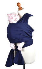 Palm & Pond Stretchy Toddler Baby Wrap Sling Carrierm Birth to 35 lbs - Navy