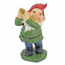 "Design Toscano Bogey Burt Golfing Garden Gnome Statue Ornament 12"""