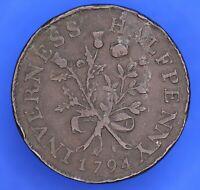 1794 Inverness Halfpenny token coin ½d  token coin *[20157]