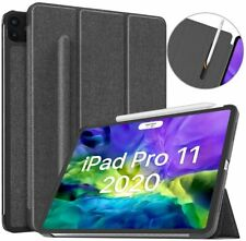 MoKo Slim Smart Shell Stand Cover Case Fit iPad Pro 11 2020 2nd w/Pencil Holder